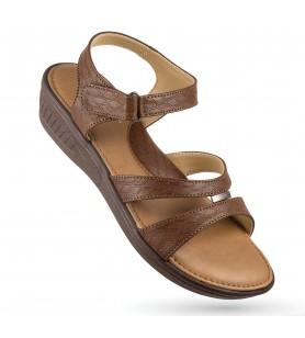 Hawalker Elite Footwear for Ladies (model name : SF-7197-brown)