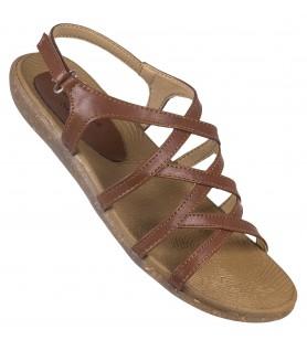 Hawalker Elite ladies  footwear (Model Name : sf-8860-brn)