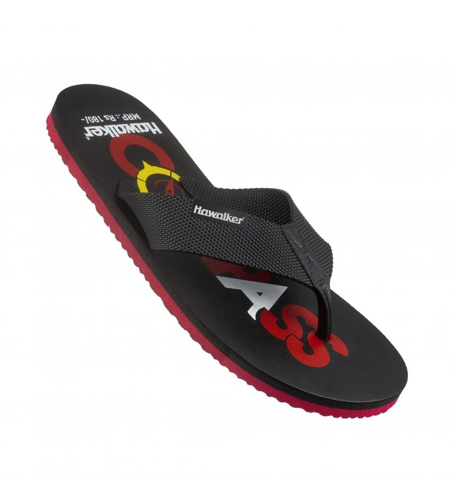 Hawalker Gents Flip Flops | Colors |cw-04-black/black