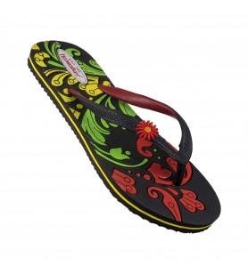 Hawalker Colors |Ladies Flip Flops | CL-20 | Black