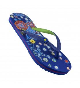 Hawalker Colors |Ladies Flip Flops | CL-20 | Blue