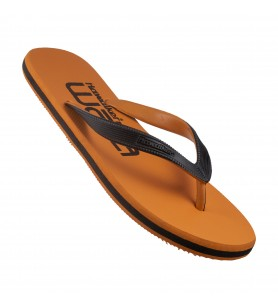 Hawaker | Gents Printed Flip Flops | waka | orange
