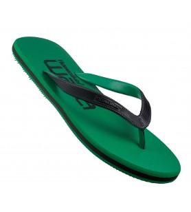 Hawaker | Gents Printed Flip Flops | waka | green