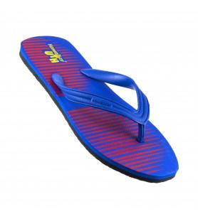 Hawaker UTH | Gents Printed Flip Flops | wp-04-blue/red