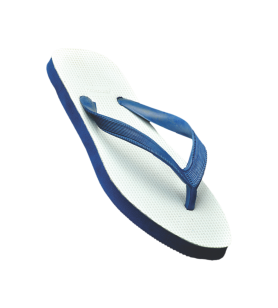 Hawalker  Gents Flip Flops   wonder   Upper White